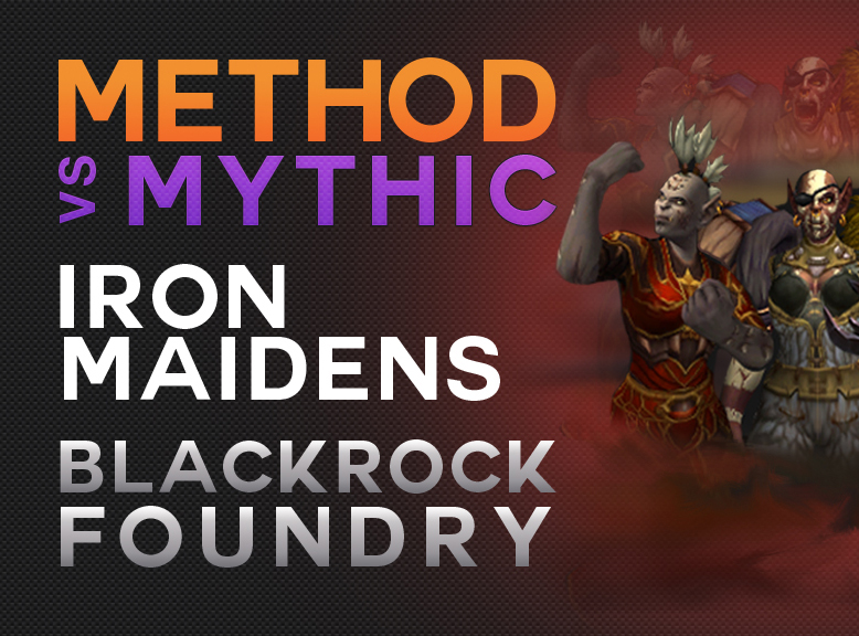 Method Progression Videos Blackrock Foundry: YouTube Thumbnails