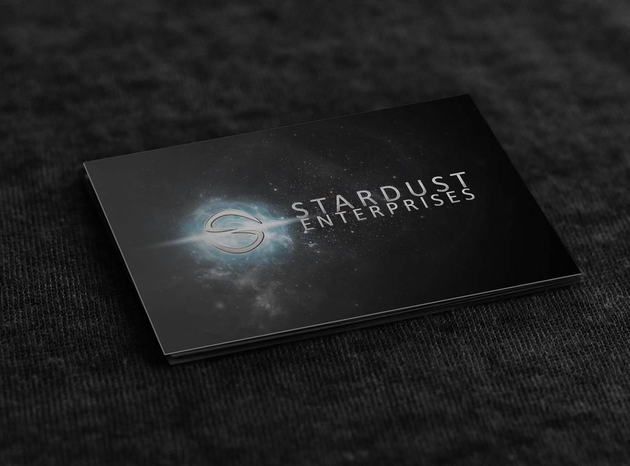 Business Card Design – Stardust Enterprises
