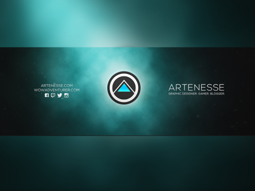 New Logo and Twitter Banner Design