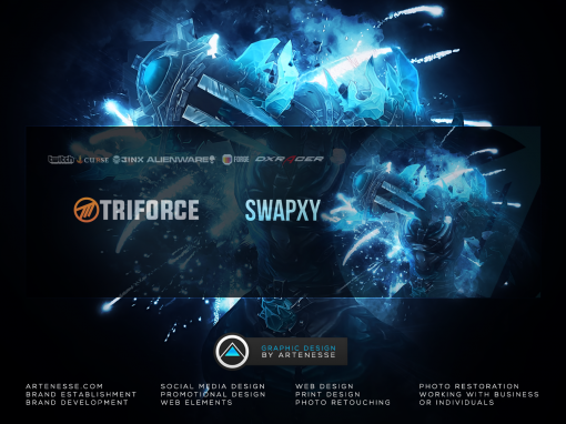 Twitter Banner Design – Swapxy