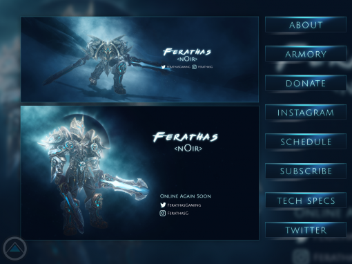 Twitch.tv Pack – Ferathas Gaming